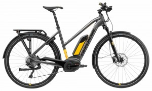 Rower Cannondale Tesoro Neo 1 Women's anthracite/canary 2018