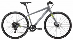 Rower Cannondale Quick 2 Disc Women's gray/volt 2018