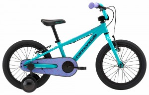 "Rower Cannondale Trail 16"" Girls turquoise/violet 2018"