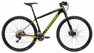 Rower Cannondale F-Si Carbon 4 jet black/neon spring 2018