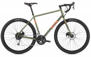 Rower Breezer Radar Expert matte army green/orange 2018