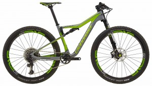 Rower Cannondale Scalpel Si Hi-Mod Team gray/acid green 2018