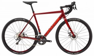 Rower Cannondale CAADX Tiagra fire red 2018