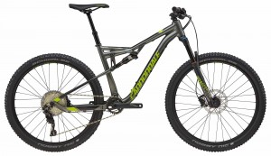 Rower Cannondale Habit 4 gray/acid green 2018