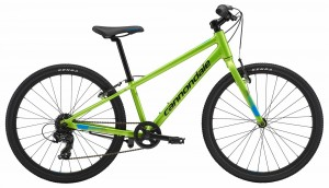 Rower Cannondale Quick 24 Boys acid green 2018