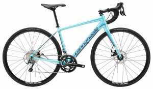 Rower Cannondale Synapse Disc Women's Tiagra aqua metalic/slate blue 2018