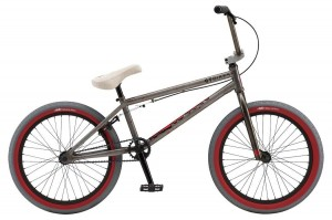 "Rower GT BMX Performer 20.5"" gloss clear/red 2018"